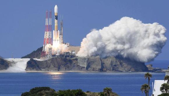 El cohete que puso en órbita el satélite japonés fue construido por Mitsubishi Heavy Industries. (Foto: AP)