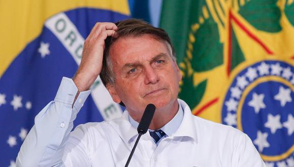 Jair Bolsonaro es el último mandatario del G20 en reconocer la victoria del demócrata Joe Biden. (Foto: Sergio Lima / AFP)
