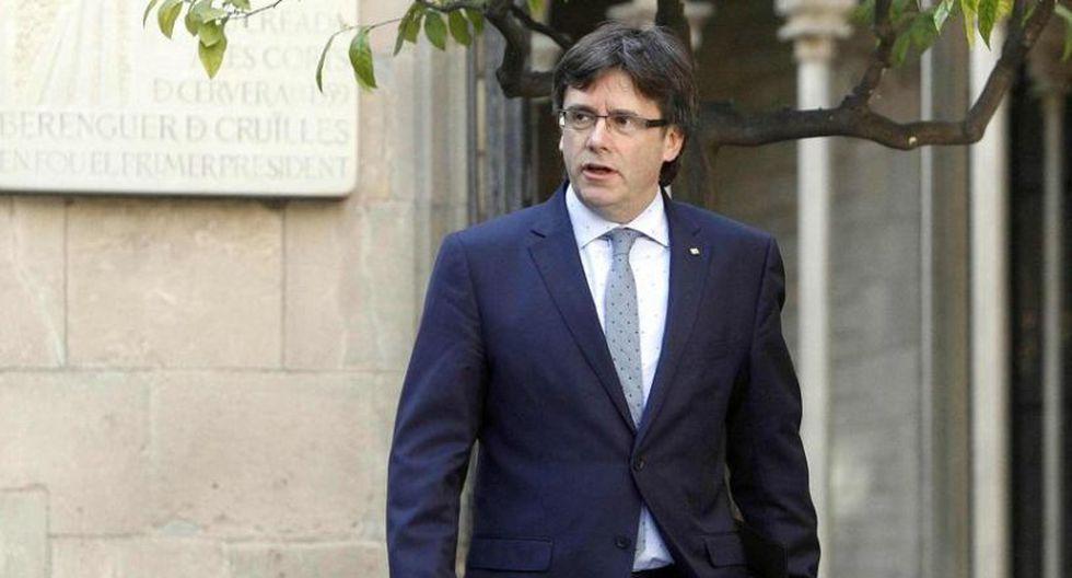 El ex presidente de Cataluña, Carles Puigdemont, reside actualmente en Bélgica ante la orden de detención por rebelión que pesa sobre él en España. (Foto: EFE)