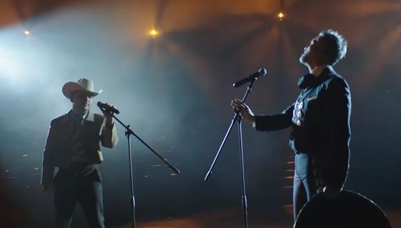 """Alejandro Fernández y Christian Nodal unen sus voces nuevamente para presentar """"Duele"""". (Foto: Captura de video)"""