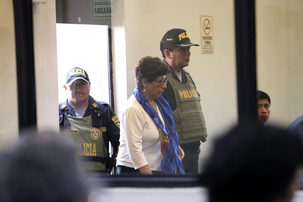 La terrorista Margot Liendo Gil, conocida como 'Noemí', integró el Comité Regional Norte y fue miembro del Comité Central de Sendero Luminoso. (Foto: Rolly Reyna/ El Comercio)