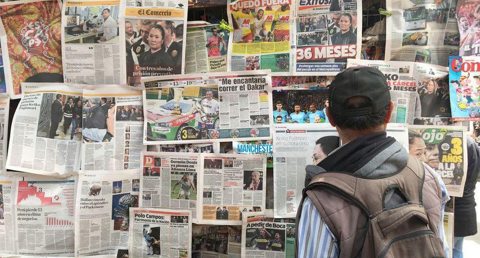 """""""El país tiene que renovar su compromiso con la prensa libre e independiente"""". (Foto: GEC)"""