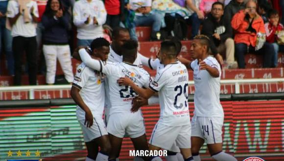 Liga de Quito ganó 3-2 a Olmedo por la primera jornada de la   Liga Pro de Ecuador. (Foto: LDU).