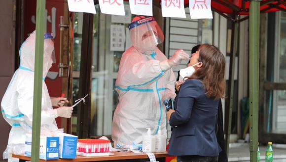 Coronavirus en China   Últimas noticias   Último minuto: reporte de infectados y muertos por COVID-19 hoy, jueves 23 septiembre del 2021. (Foto: STR / AFP) / China OUT).