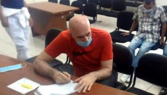 La sala dispuso que el ciudadano serbio Zoran Mihajlovic Jaksic sea expulsado del Perú una vez que termine su condena. (Foto: captura de video)