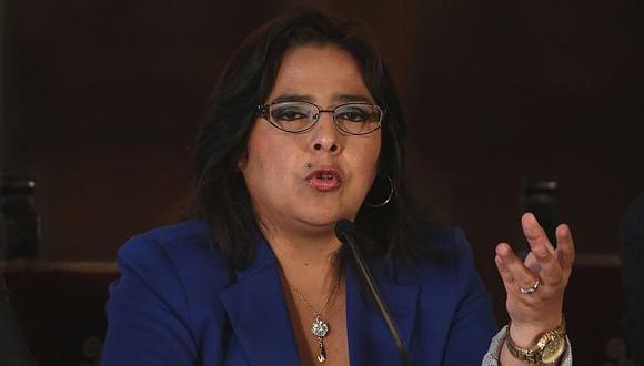 """Ana Jara: """"No debe haber impunidad"""" en desalojo en Cajamarca"""