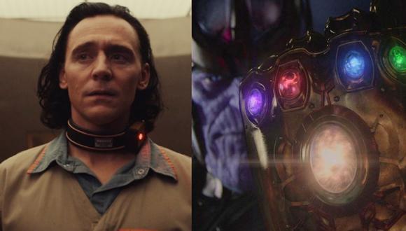 A la izquierda, Tom Hiddleston, tras descubrir un dato crucial sobre las Gemas del Infinito y la TVA. Foto: Marvel Studios.