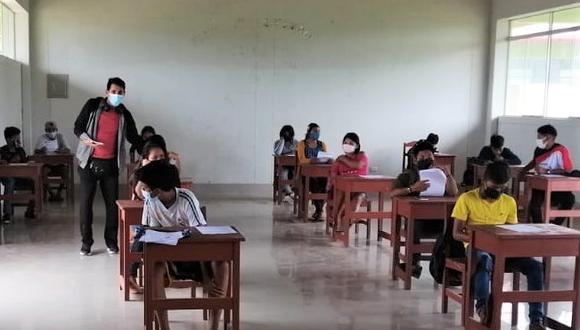 El ministro de Educación señaló que esto es posible por la mejora de las condiciones epidemiológicas. (Foto: GEC)