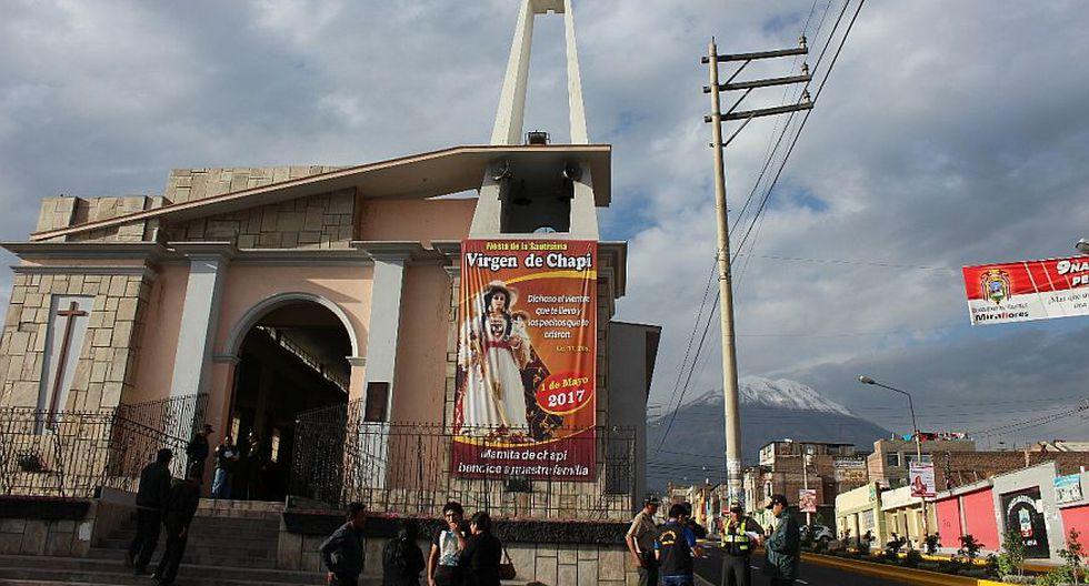Arequipa: fieles de Virgen de Chapi iniciaron peregrinación - 2
