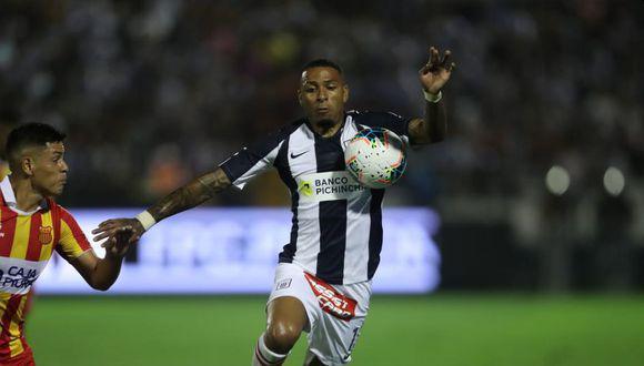 Alexi Gómez llegó a Alianza Lima a inicios de este año y lleva un gol en la Liga 1 ante Atlético Grau. (Foto: GEC)