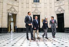 Cuatro directores de El Comercio se reúnen por primera vez por los 180 años del Decano