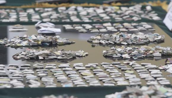 San Miguel: cayó 'Rata', principal abastecedor de cocaína