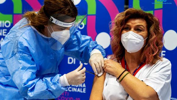 La vacunación es fundamental en la lucha contra la pandemia. (Foto: Handout / PRESS OFFICE OF THE REPUBLIC OF SAN MARINO / AFP)