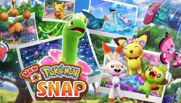 New Pokémon Snap. (Imagen: Nintendo)