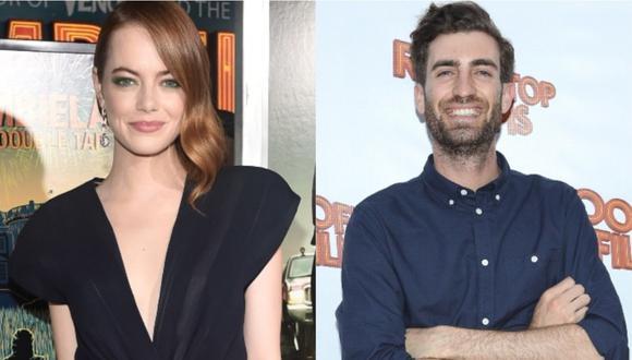 Emma Stone anunció su compromiso con Dave McCary y presume su anillo en Instagram. (Foto: AFP)