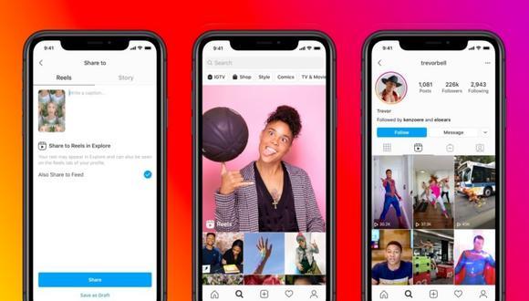 Instagram Reels, la nueva apuesta de Facebook para destronar a TikTok este 2020. (Foto: EFE)
