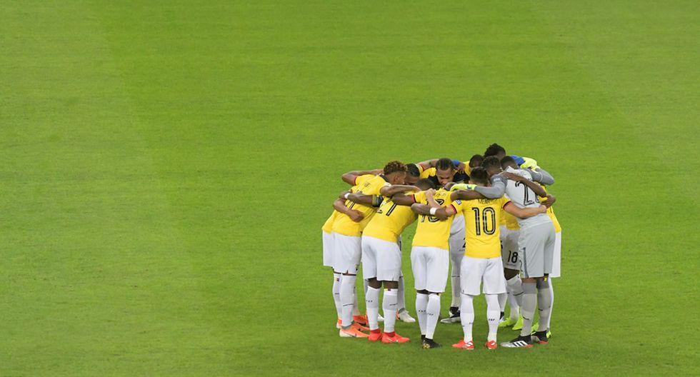 Ecuador vs. Uruguay. (Foto: AFP)
