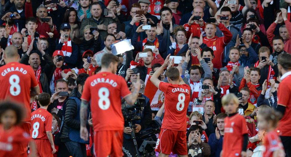 Steven Gerrard y su emotiva despedida del Anfield Road (FOTOS) - 26