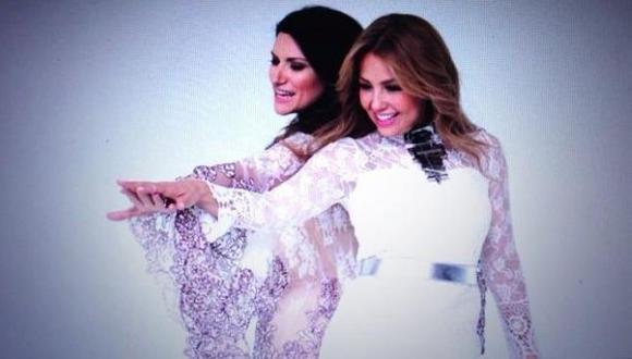 Laura Pausini lanzó tema con la colaboración de Thalía