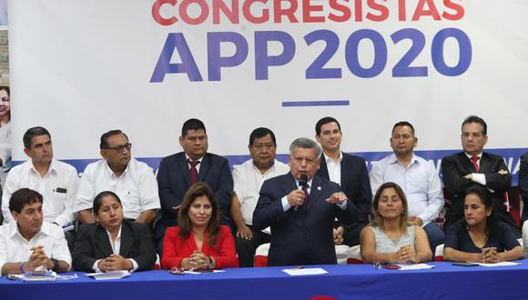 """En un pronunciamiento, dicho partido aclaró que su respaldo a Fuerza Popular """"no constituye una alianza, pacto o acuerdo político"""". (Foto: El Comercio)"""