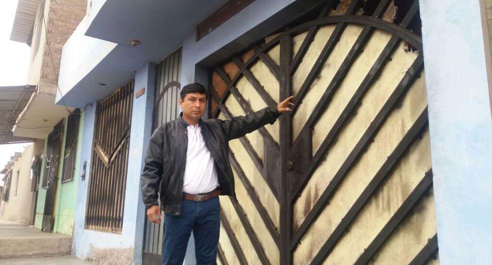 La Libertad: candidato a alcaldía denuncia que bomba molotov fue lanzada a su casa