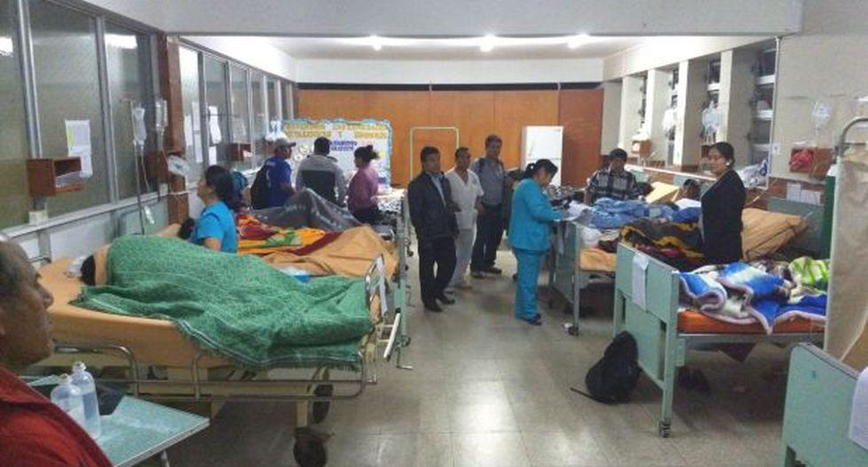 Muchos de los afectados por la intoxicación en Áncash tuvieron que ir al hospital en camiones y hasta en moto, debido a los escasos medios de transporte en Colcap (Foto: Laura Urbina)