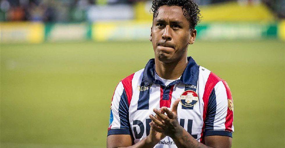 La despedida de Renato Tapia al Willem II. (Foto: @WillemII)