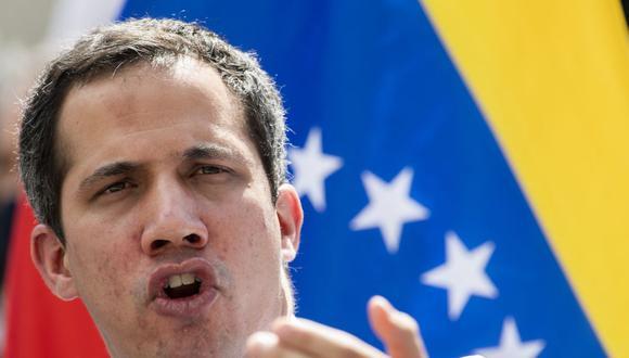 """Fiscalía de Venezuela abre investigación a Juan Guaidó por """"secuestro"""" de activos en el exterior. (Foto: Yuri CORTEZ / AFP)."""