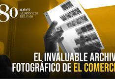 Digitalizar para salvar: el invaluable archivo fotográfico de El Comercio [VIDEO]