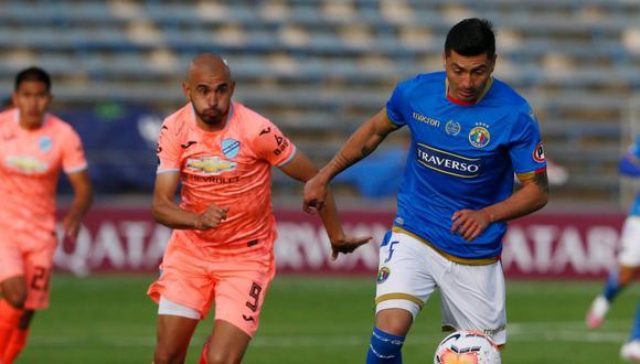 Audax Italiano gana 2 - 1 a Bolívar en el duelo de ida por Copa Sudamericana Foto: (AFP)
