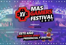 MasGamers Festival 2021: así será el esperado evento de videojuegos en Perú