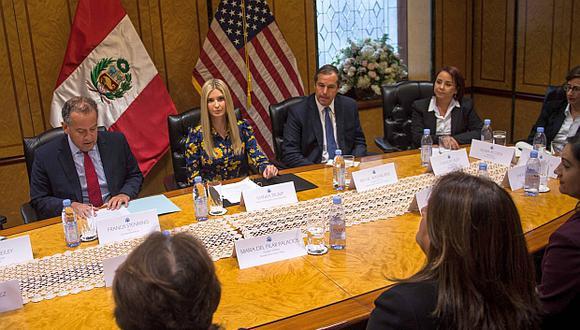 Ivanka Trump está en el Perú como parte de la delegación de los Estados Unidos a la Cumbre de las Américas. (Foto: Reuters)