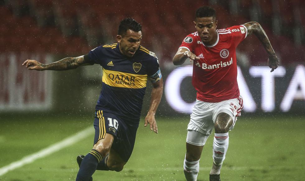 Boca Juniors derrotó 1-0 a Internacional en Porto Alegre por Copa Libertadores 2020 - VIDEO, RESUMEN, GOL - Carlos Tévez   RESPUESTAS   EL COMERCIO PERÚ