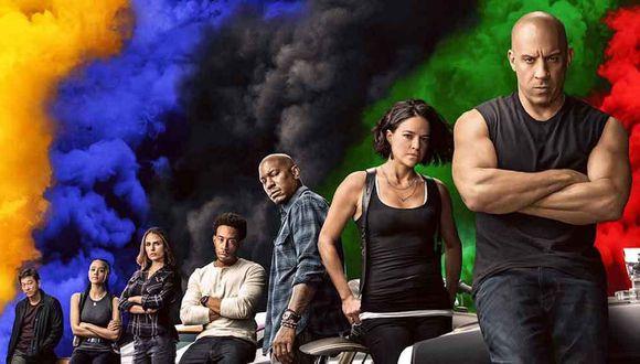 """Los protagonistas de """"Rápidos y furiosos 9"""", incluido Han (Foto: Universal Pictures)."""