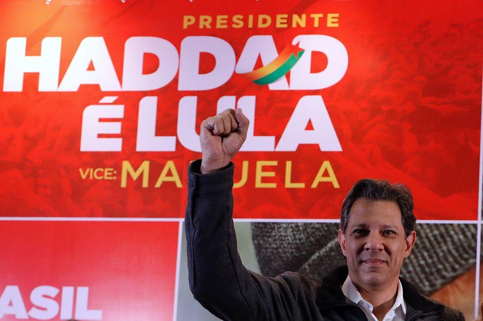 Fernando Haddad, candidato presidencial en Brasil. | Foto: EFE