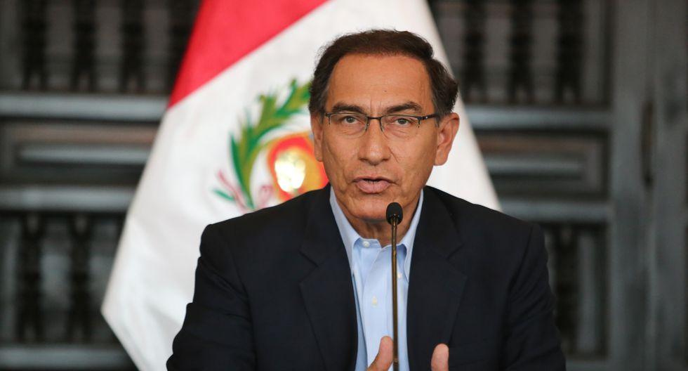 El presidente Martín Vizcarra aseguró que el Ejecutivo respaldará al policía que está en prisión por abatir a un presunto delincuente en Piura. (Foto: GEC)