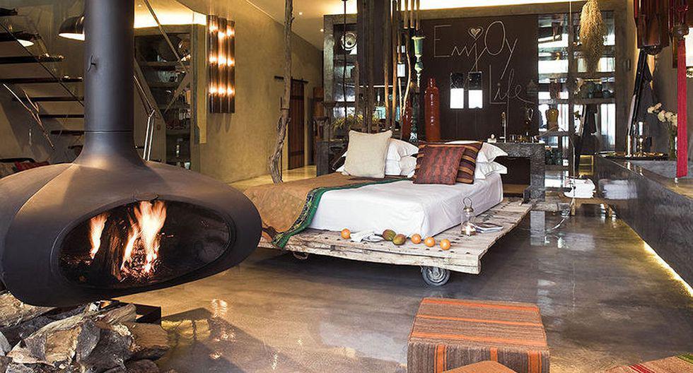 Areias Do Seixo. Habitación del hotel Areias do Seixo, ubicado en la costa occidental de Portugal. Es un alojamiento que integra los recursos naturales de la zona y da nueva vida a elementos utilizados en su diseño. (Foto: http://www.areiasdoseixo.com/)