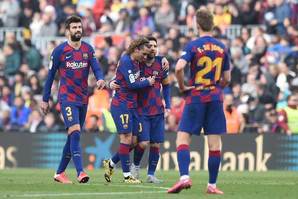 Barcelona vs. Getafe: las mejores imágenes del triunfo catalán en el Camp Nou. (Foto: Agencias)