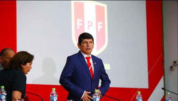 Agustín Lozano asumió el cargo en diciembre de 2018. (Foto: Jesús Saucedo / GEC)