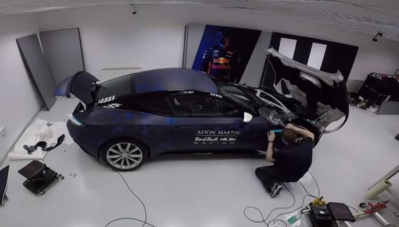 El video fue publicado por el equipo Aston Martin Red Bull Racing como previas al inicio de la temporada 2018 de la F1. (Foto: Red Bull).