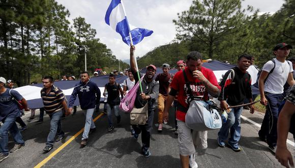 El 79,3 % de los migrantes, unas 5.559 personas, ha vuelto en autobuses procedentes de México y Guatemala y el 20,7 % en avión desde esos mismos países. (Foto: EFE)