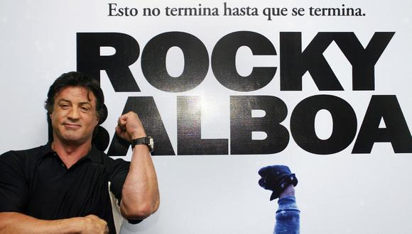 """Sylvester Stallone volverá a ser """"Rocky"""" en un documental. (Fotos: AFP)"""