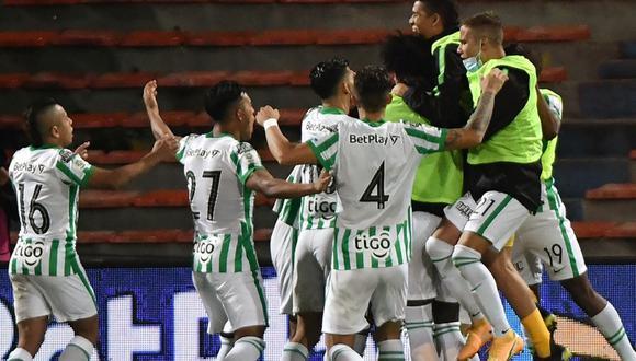 Nacional se llevó la victoria ante Junior en el Atanasio