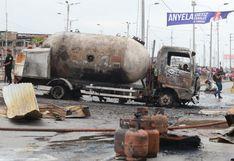 Incendio en Villa El Salvador: camión que ocasionó explosión contaba con una póliza de seguros