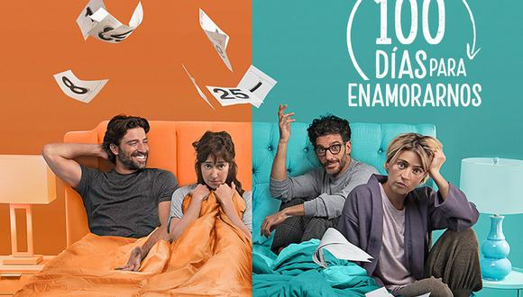 100 días para enamorarse es un remake de la telenovela argentina que se estrenó en 2018 (Foto: Telemundo)