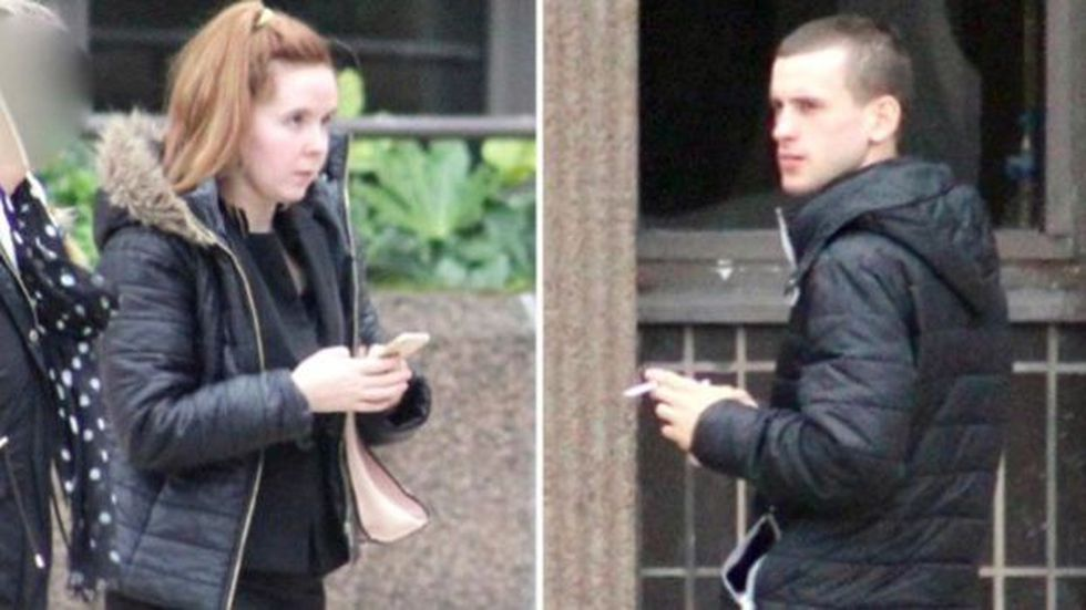 Lauren Coyle y Reece Hitchcott fueron declarados culpables de crueldad infantil. (BBC Mundo)