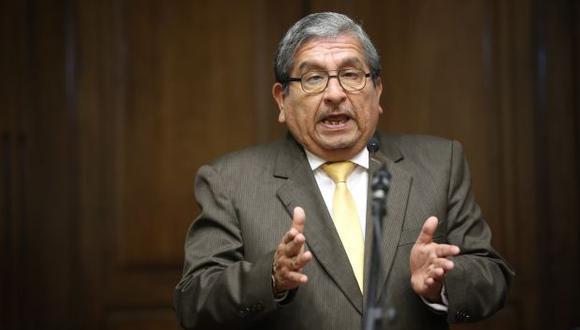 El pleno del Congreso acordó a inicios de este mes acusar a Julio Gutiérrez Pebe por cohecho pasivo específico. (Foto: Congreso)