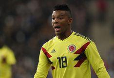 Perú vs. Colombia: Frank Fabra fue convocado de emergencia para amistosos de fecha FIFA