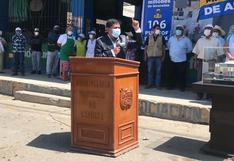 Arequipa: gobernador Llica insulta a juez que emitió falló que dispone su destitución del cargo