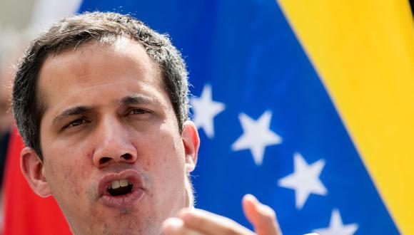 El partido que lidera el opositor Juan Guaidó también participará en las elecciones de noviembre en Venezuela. (YURI CORTEZ / AFP).